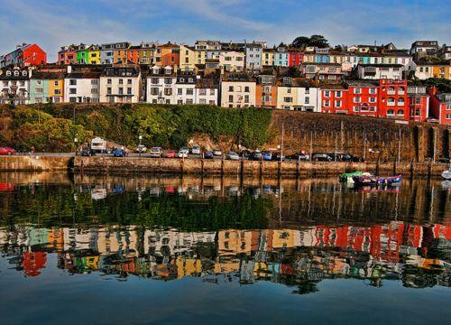 Brixham Harbor, Devon, England