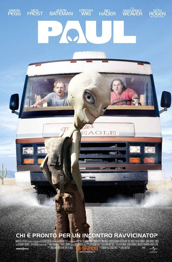 Two British comic-book geeks traveling across the U.S. encounter an alien outside Area 51. Smart and funny movie about the geek world with a hilarious main character, Paul, voiced by Seth Rogen.