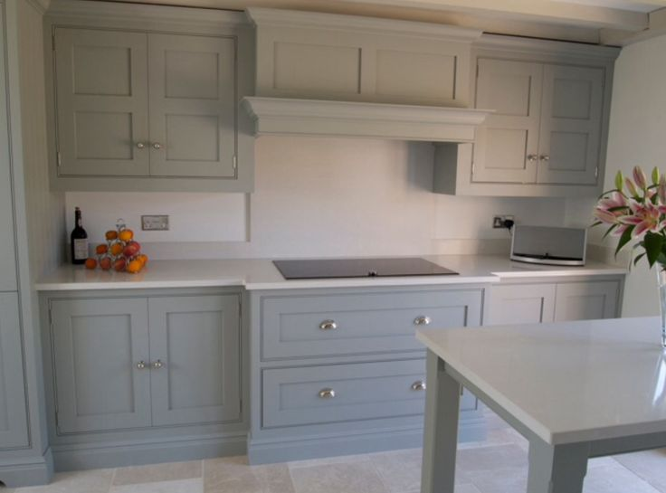Tom Howley kitchen, extractor canopy with Neff induction hob