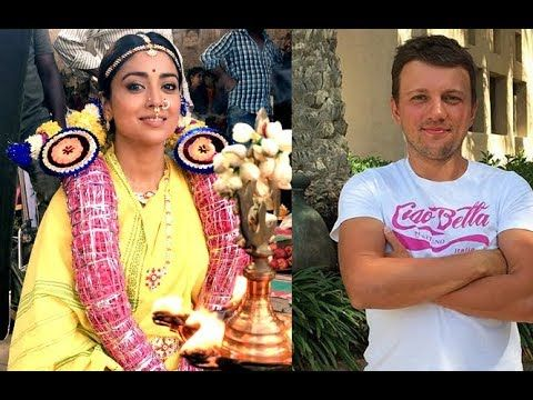 Actress Shriya Saran Marries Russian Boyfriend Andrei Koscheev