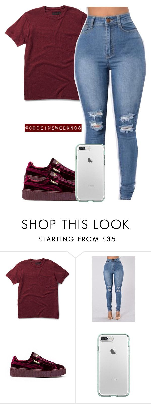 """1/21/17"" by codeineweeknds ❤ liked on Polyvore featuring Dr. Martens and Puma"