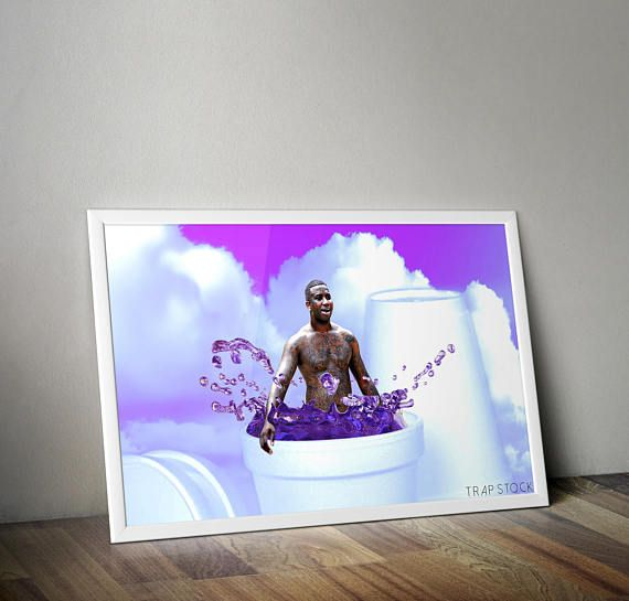 Gucci Mane Posters and Prints Hip Hop Portrait Dirty