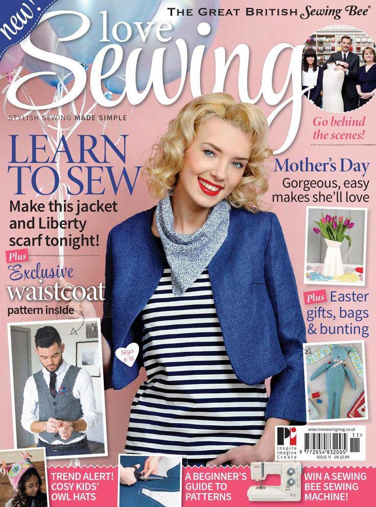 Love sewing issue 11, 2015