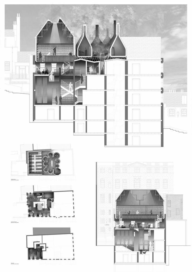 SARABEN ACADEMIA_Class of 2010 | Alex Russell :: Smoker's Speakeasy and Gentlemans Club, Edinburgh / Leicester School of Architecture, DMU - tutors: Sara Shafiei and Ben Cowd