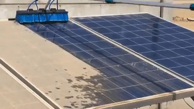 Cleaning The Solar Panels On A Roof Solar Panels Solar Funny Meme Pictures