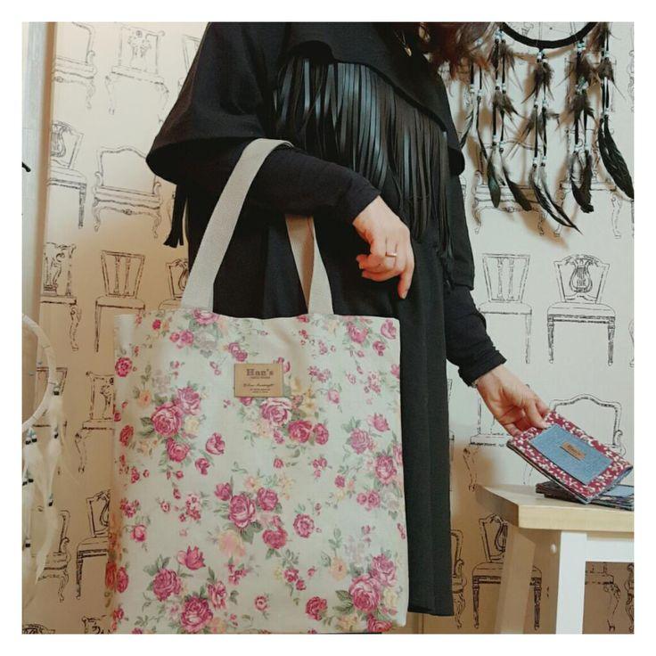 shoulder bag,coated linen fabric,korean made