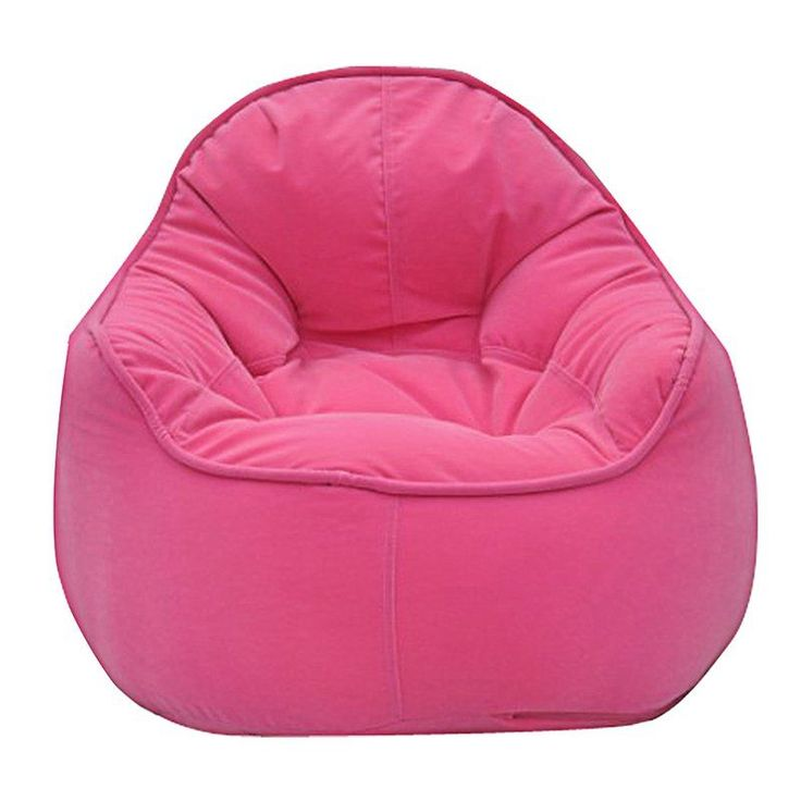 Modern Bean Bag Mini Me Pod Small Bean Bag Chair Pink - MBB918P - PINK