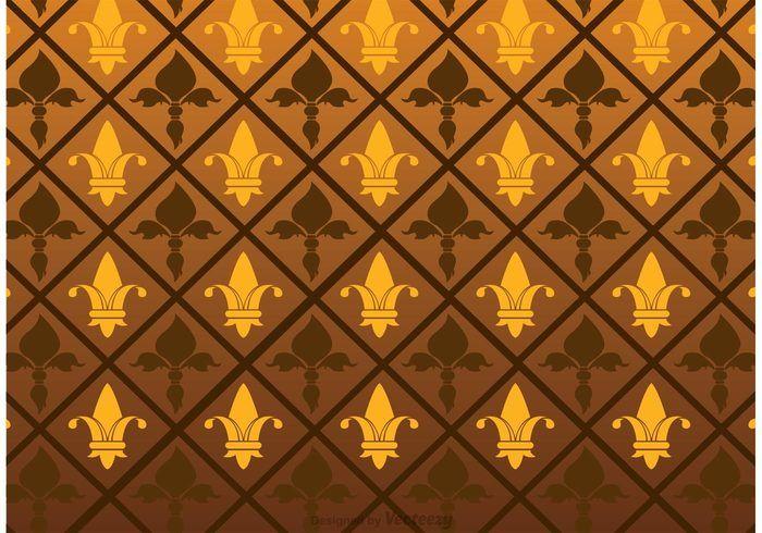 Free vector Fleur De Lis Pattern Vector #23754