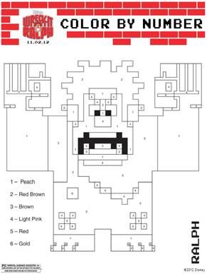 #WreckItRalph: Coloring Pages, Facebook App and Trailer!