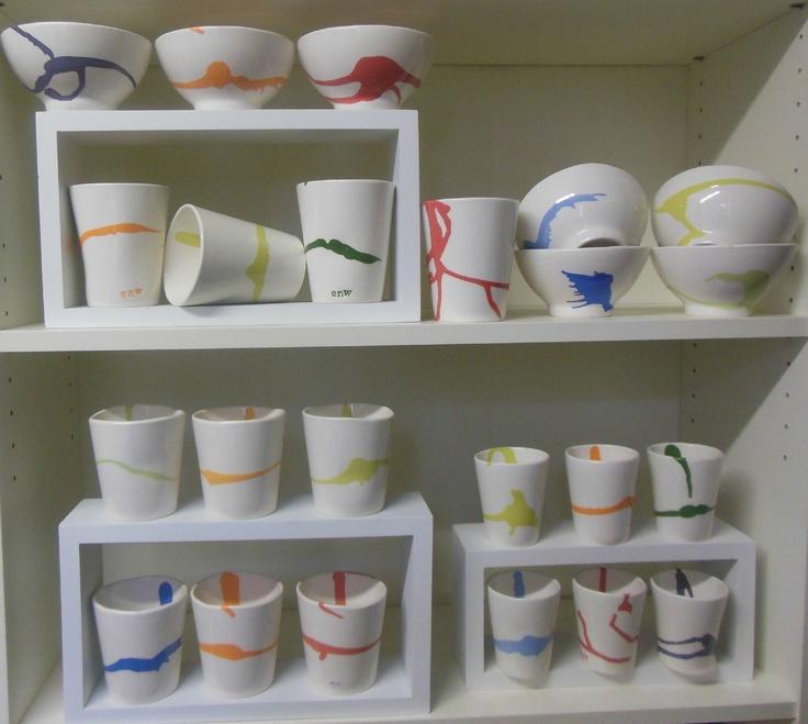 Série COULURES -  Bol - Tasse- Mug