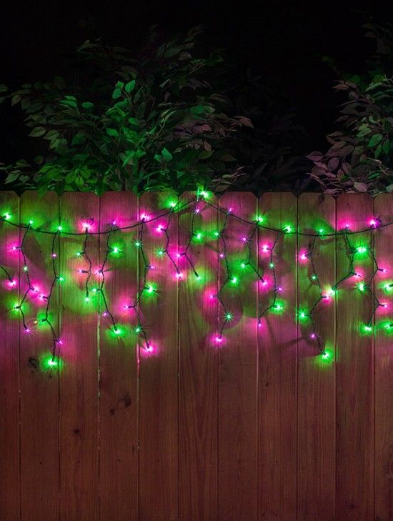 halloween lights and decorations reimagined from christmas - Halloween Outdoor Lights