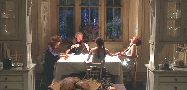 One of my favorite scenes in the movie Practical Magic.  Me too, Meaghan was amazed when she watched it as an adult for the first time and GOT IT!