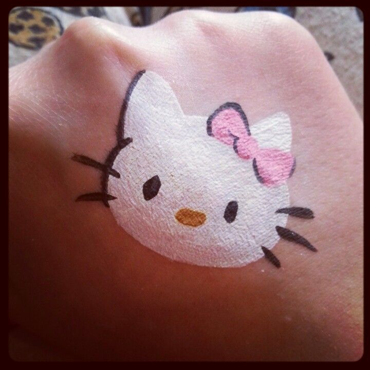 Hello kitty cheek design by hellomisshastings