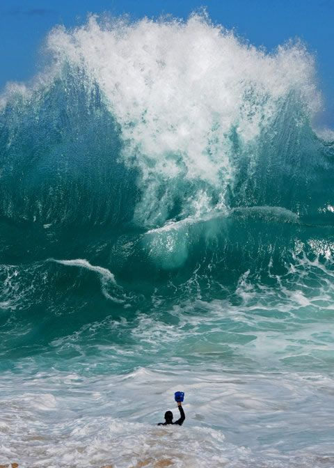 Interview with Shorebreak Photographer Clark Little. I can't imagine how that wave felt once it hit. Ouch.