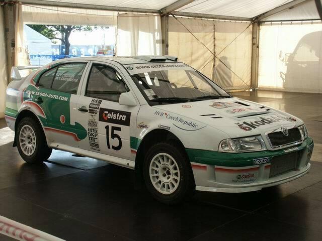 #Skoda Octavia WRC evo3