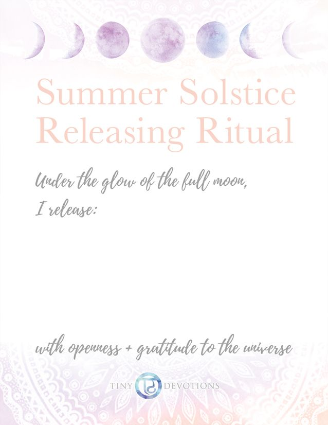 This Monday, June 20thbrings a Full Moon,which is a time in the Lunar Cycle that is best for letting things go. Whether they be emotions, compulsions, or just things that no longer serve you, we want to assist you in clearing your life of these negative energies + making room for new intentions that will …