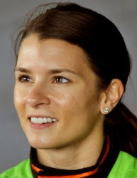 Danica Patrick....hope she does well in Nascar.