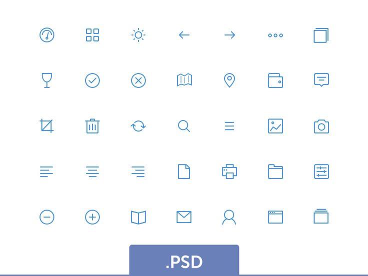 Top 50 Free Mini Icon Sets