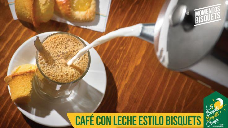 #CaféConLeche #Tradición #BisquetsObregón #Momentos