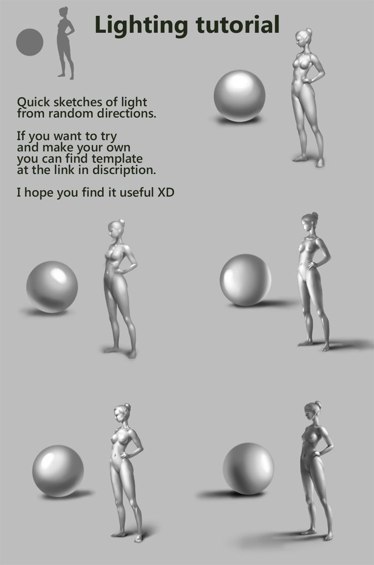 Light directions tutorial by DmitryGrebenkov.deviantart.com on @deviantART