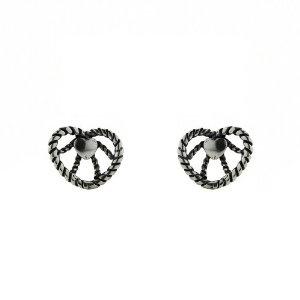 Boucles d'oreilles romantiques - Bijoux c?urs en Argent 925: ShalinCraft: Amazon.fr: Bijoux
