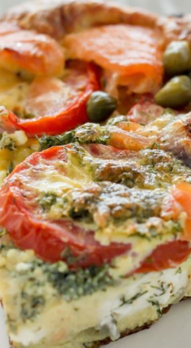frittata baker holiday hotties loves eggs smoked salmon frittata fast ...