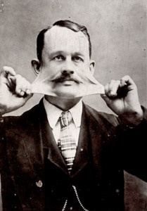 Born in 1859 in upstate Copenhagen, New York James Morris possessed the unique gift of being able to stretch his skin out like taffy, sometimes as far out as 18 inches.  He could pull his skin over his face like a turtleneck. He would amuse friends and co-workers with the ability at first; he began doing it professionally at J.E. Sackett's dime museum in Providence. In 1882 he joined P.T. Barnum's circus and toured with the show for many years throughout the United States and Europe.