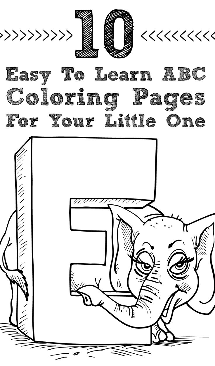 25 Best Ideas About Abc Coloring Pages On Pinterest Easy Abc Coloring Pages