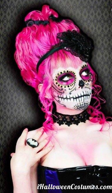 sugar skull makeup for Halloween » Halloween Costumes 2013 ...