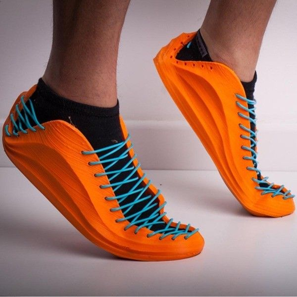 Orange Fruit Cartoon 3D Print Men's Sport Sneakers Running Shoes
