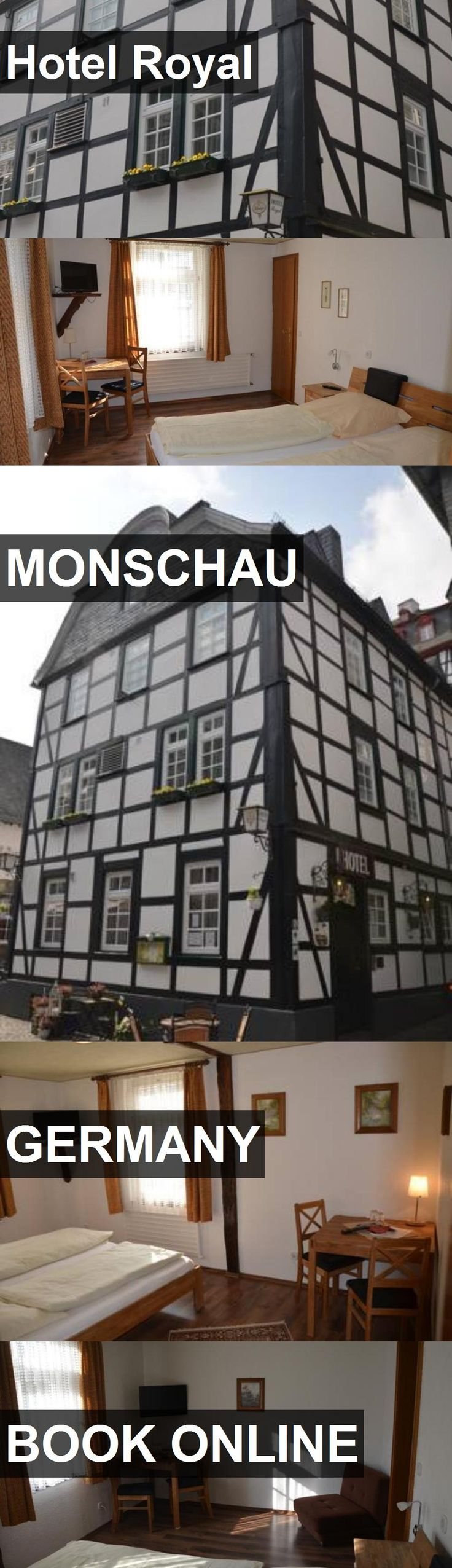 Hotel Royal in Monschau, Germany. For more information, photos, reviews and best prices please follow the link. #Germany #Monschau #travel #vacation #hotel