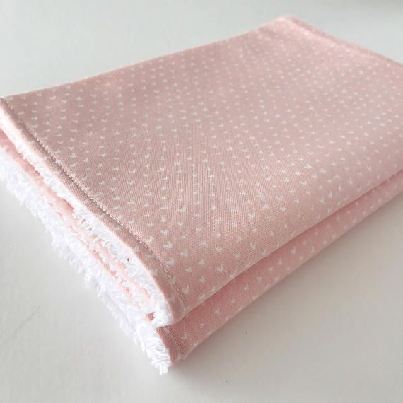 Pink Hearts Burp cloth, baby girl, baby girl gift, baby burp cloth, burp rags, baby girl burp cloth, baby shower gift, newborn gift, burp cloths girl Adorable baby girl burp rags in pink with subtle and artistic white hearts pattern. Baby burp cloth made in stylish 100% cotton premium
