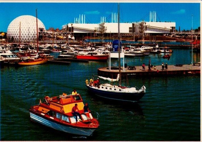 Postcard 901508 Boat Pier Ontario Place Toronto   eBay