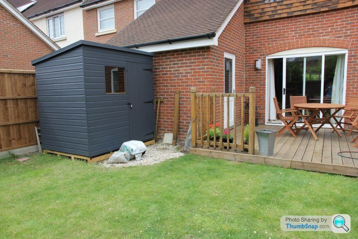 Painting shed and fence, need some inspiration! - Page 1 - Homes, Gardens and DIY - PistonHeads
