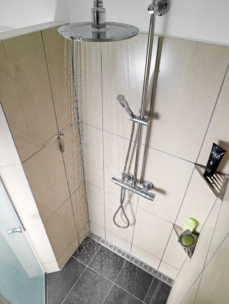 Sprchový kout a použití systému Unidrain