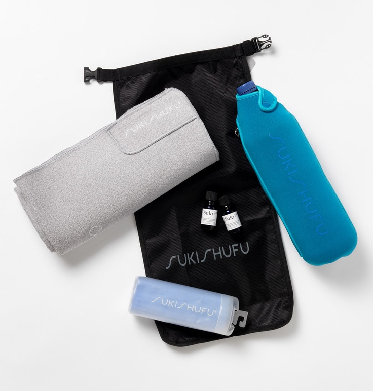 The Suki Sack - it will hold your towel, kit and other items securely. You will never reach for a plastic bag again!