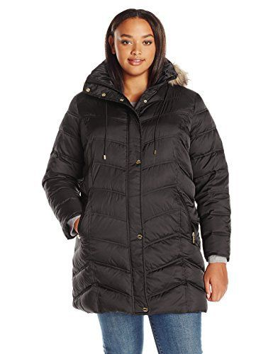 "Chevron-quilt down coat with zip-and-snap placket featuring removable hood trimmed in faux fur   	 		 			 				 					Famous Words of Inspiration...""How absurd and delicious it is to be in love with somebody younger than yourself. Everybody should try it.""					 				 				 					Barbara...  More details at https://jackets-lovers.bestselleroutlets.com/ladies-coats-jackets-vests/fur-faux-fur/product-review-for-kenneth-cole-womens-plus-size-new-york-chevron-down-coat-with-"