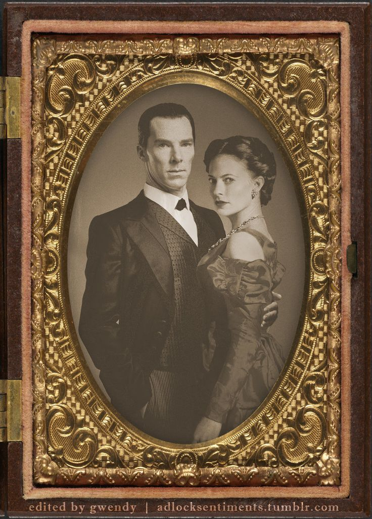 Vintage Sherlock Holmes and Irene Adler by gwendy85.deviantart.com on @DeviantArt