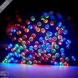 Solar-Powered LED Fairy Lights (55 ft)
