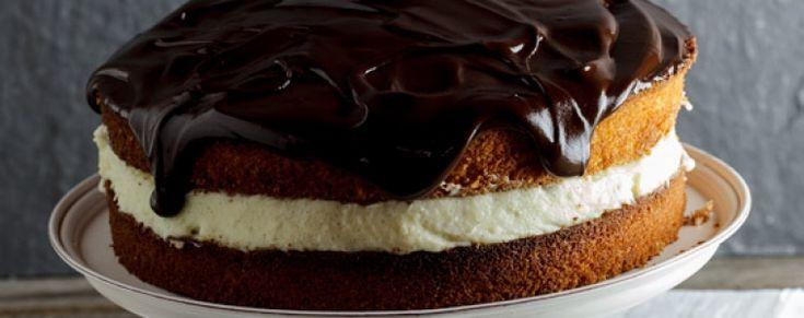 Coconut Boston Cream Pie