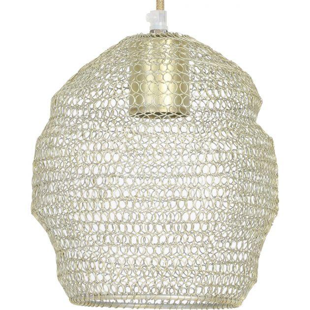 Hanglamp Nola gaas champagne
