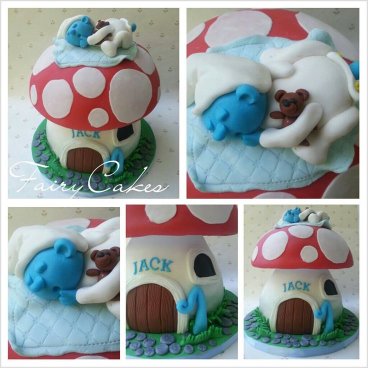 142 Best Smurfs Cake Images On Pinterest