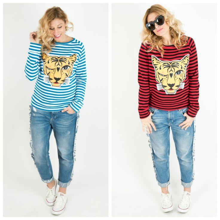 Novedad sudadera TIGRE YA www.aireretro.es  #aireretro #moda #camiseta #tshirt #tanktshirt #tanktee #tee #ilustración #diseño #illustration #design #cantabria #fashion #otoño #nuevacoleccion #colindres #corazon #rockstyle #rock #actitud #surf #surfporn #boho #bohochic #hippiestyle #laredo #winter #blogger #tiger #tigre