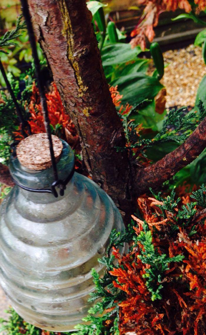 Honeycomb tree ornament