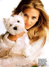 Scarlett Johnasson and her dog.  ALetterToMyDog.com
