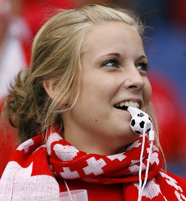 Classify These Swiss Female Football Supporters