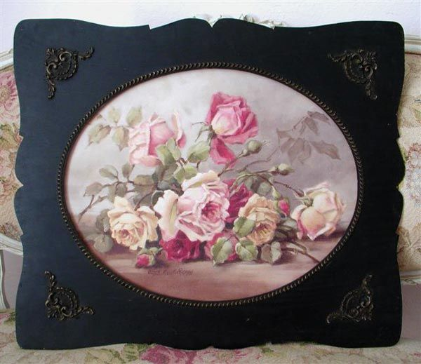 I love painted roses. Christie Repasy Designs Coming soon to IDEAS Vintage Market~Sewickley, PA