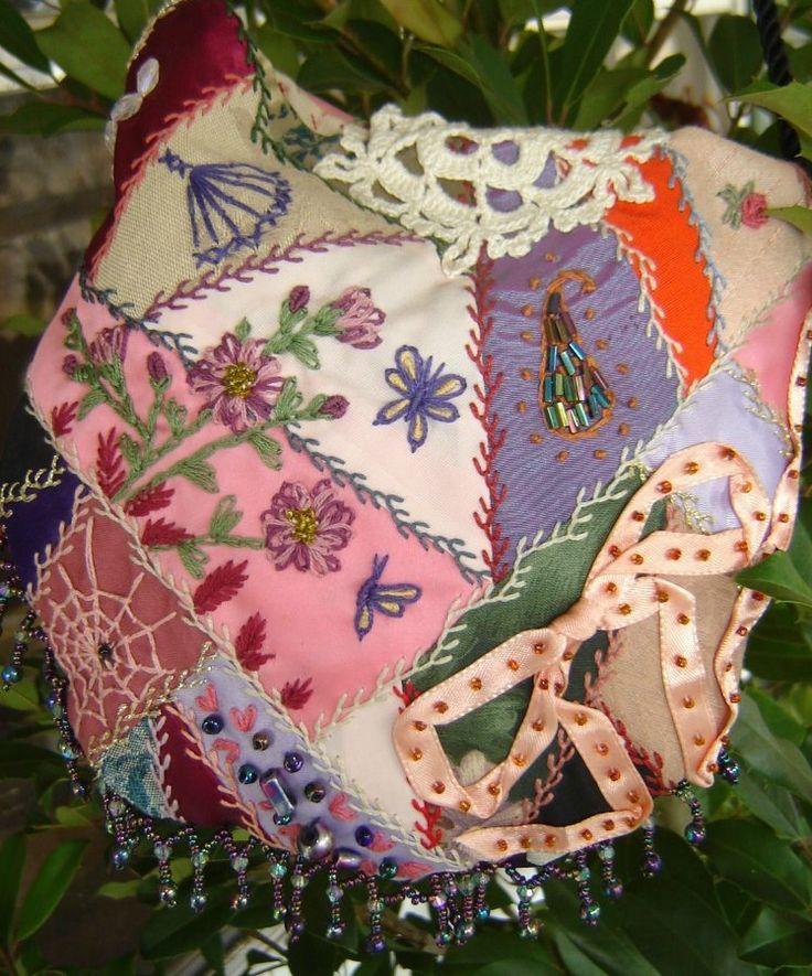 Потрясающие примеры крейзи-вышивки. Комментарии : LiveInternet - Российский Сервис Онлайн-Дневников