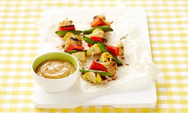 Vegetable skewers with satay yoghurt sauce recipe sauces saved by kidspot forumfinder Gallery