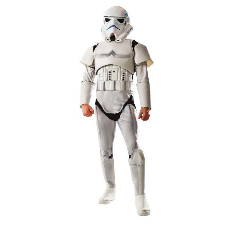 Star Wars Men's Deluxe Stormtrooper Costume S, Multicolored